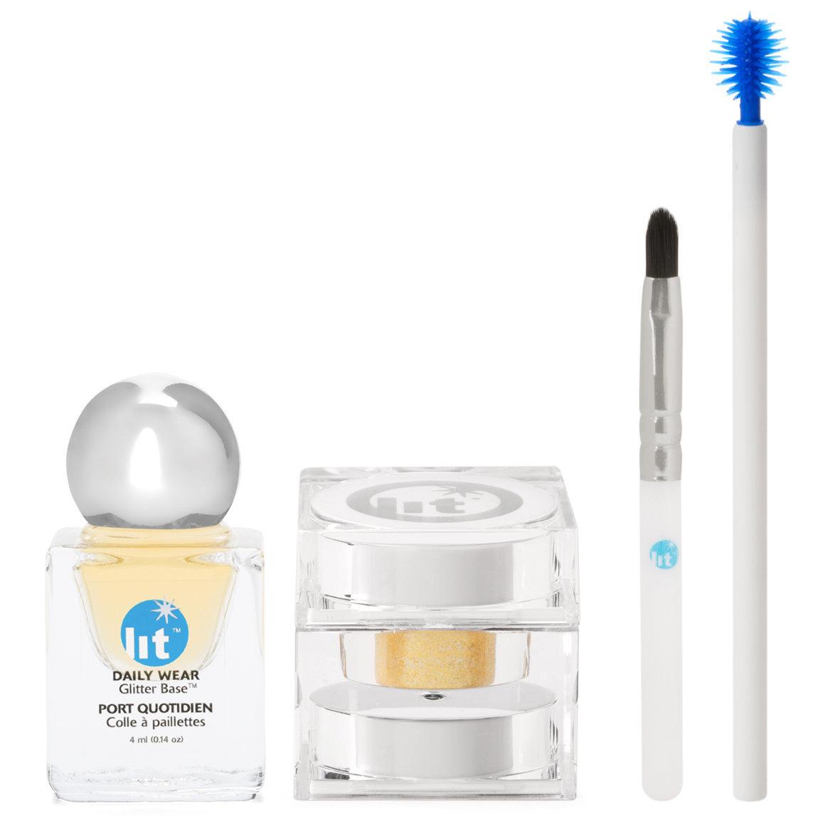Lit Cosmetics Lit Kit: Lit Metal Kits Glisten (Silver) alternative view 1.