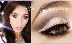 ♥♥Christmas Makeup, czyli brokatowo- gwiazdkowo:)+eng sub.:)♥♥