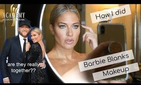 How I did Barbie Blanks Makeup for the ACM Awards