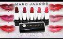 Review & Swatches: MARC JACOBS The Sofia, Five Piece Petites Le Marc Lip Crème Collection | Dupes!