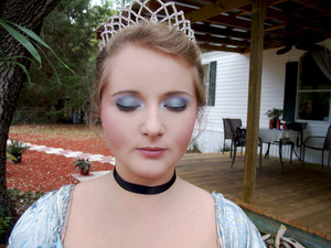 Cinderella Hair and Makeup by me. :)