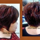 Fusion Of Short Layer And Bob Cutting With Some Color Highlight