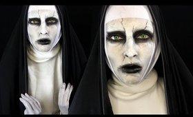Valak The Conjuring 2 Halloween Makeup Tutorial