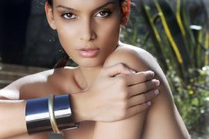 Summer fashion photoshoot makeup & hair by me Photo:Rafa Riudaverts/Model:Melody Mir