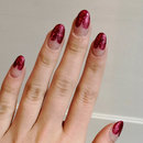 Stiletto heart manicure