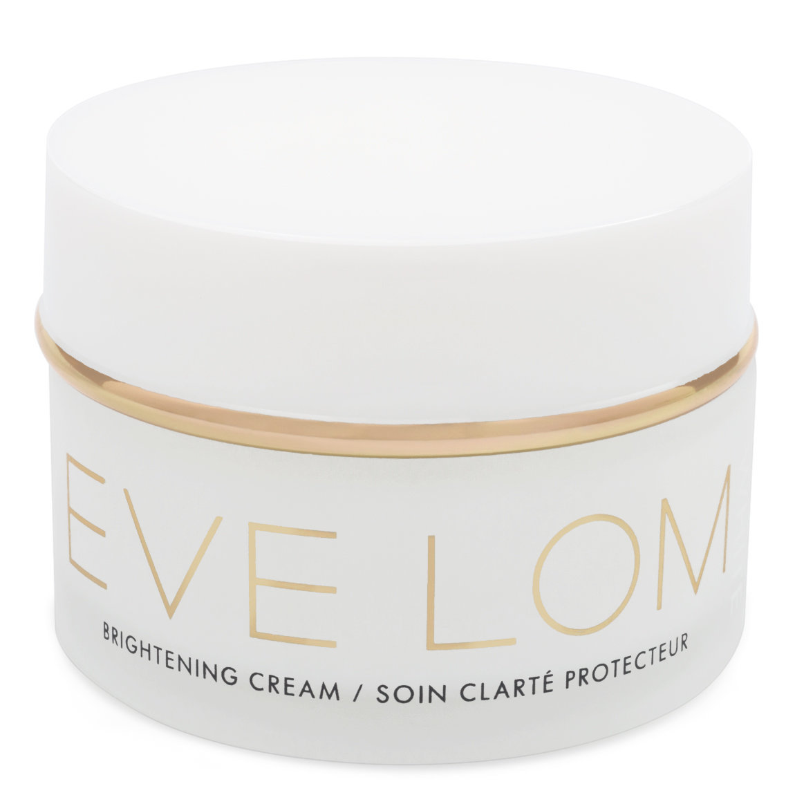 EVE LOM White Brightening Cream product swatch.