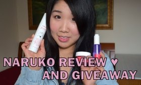 Naruko Giveaway & Review ♥