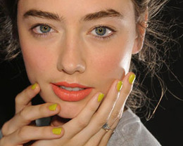 Karen Walker Nails, New York Fashion Week S/S 2012