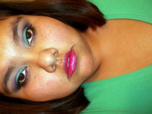 bored/ just eye makeup (=