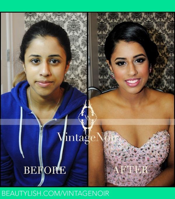 Prom Hair And Makeup Jasmeen Ms Vintagenoir Photo Beautylish