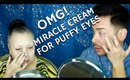 OMG! Shrink Puffy Eyes & Diminish Wrinkles w this Miracle Cream for Mature Women | mathias4makeup