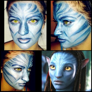 My boyfriend requested Avatar my last friend request look I had so much fun doing these I've decided to continue them!
