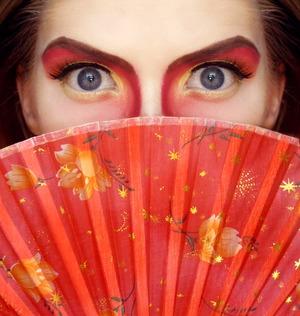 Theatrical Mulan/Chinese Inspired Makeup