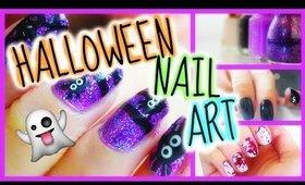 ♥ EASY Halloween Nail Art Designs ♥