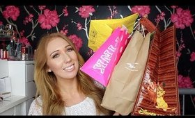 HUGE Fashion & Beauty Haul! | NEW PRODUCTS | Victoria's Secret, Hollister, YSL, Disney, MAC...