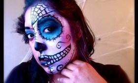 Halloween Tutorial Series: Sugar Skull!