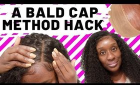 Protect Your Edges  Lace Wig Bald Cap Method Hack for Beginners-Simple & Quick