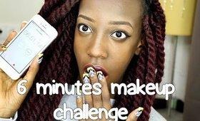 6 minutes makeup challenge
