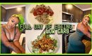 WHAT I EAT IN A DAY | Full Day of Eating | Easy LOW CARB Meal Ideas