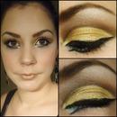 Gold Prom Makeup
