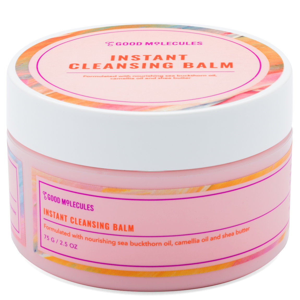 Good Molecules Instant Cleansing Balm 75 g product swatch.