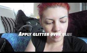 Glitter Brows using Eye Kandy Cosmetics