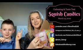 Squish Candies | Unboxing & Taste Test | Fabulous Life of Mrs. P