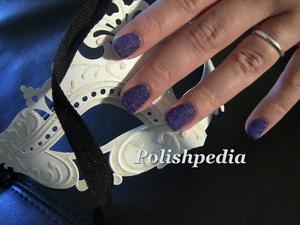 My DIY velvet manicure with flocking powder.  Love these nails.  http://www.polishpedia.com/velvet-nails.html
