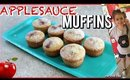After School Snack: Applesauce Muffins