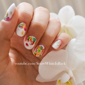 Watch the tutorial for these nails on: https://www.youtube.com/watch?v=_kL01ic8r50