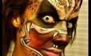 Halloween Series 2013: Predator Face Painting Tutorial