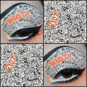 Paramore inspired eye