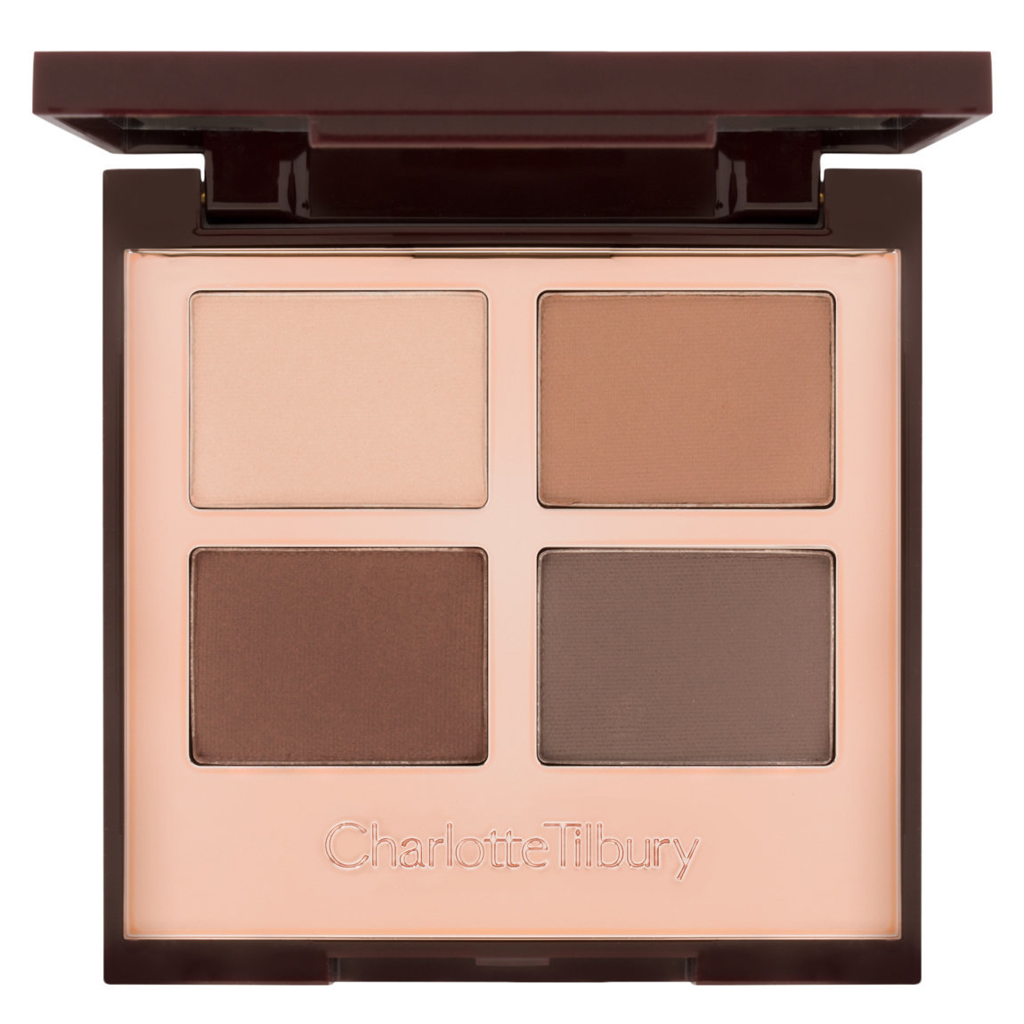 Charlotte Tilbury Luxury Palette The Sophisticate product smear.