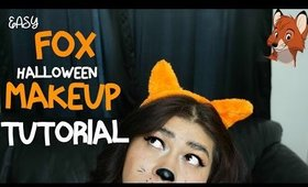 Easy FOX Halloween Makeup Tutorial