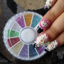3D Kawaii Nails