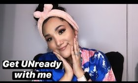 GET UNREADY WITH ME #skincareroutine #idewcare #kbeauty