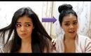 HIAR TUTORIAL: MESSY HAIR INTO A CHICK BUN