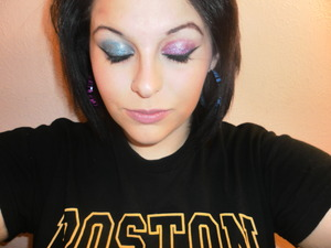 The glitter palette I used came out a little gooey and clumpy, i loved the colors but I wouldn't recommend buying it.