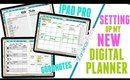 Setting up my New Digital Planner using Good Notes, Setting up my New Digital Planner on my iPad Pro