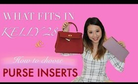 What Fits in my Hermes Kelly 28 and How to Find the Perfect Purse Insert