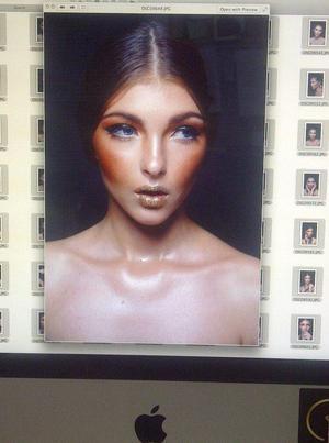 Model- Anastajia @LenisModels Photography- Condry Calvin Mlilo @ccmphotography Make Up, hair, Nails, Styling- Tamarie Rose @RosemakeUpRtist