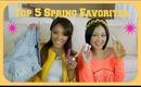 TOP 5 Spring Favorites feat. JaaackJack