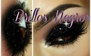 Ahumado con Brillos Negros / Smokey with Black Glitter