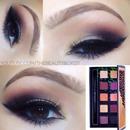 Smokey glamorous makeup