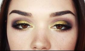 fall inspired make up