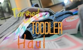 TARGET TODDLER CLOTHING HAUL
