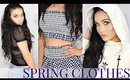 A Very TMI Try on Haul | Spring Clothes | Zara + Adidas