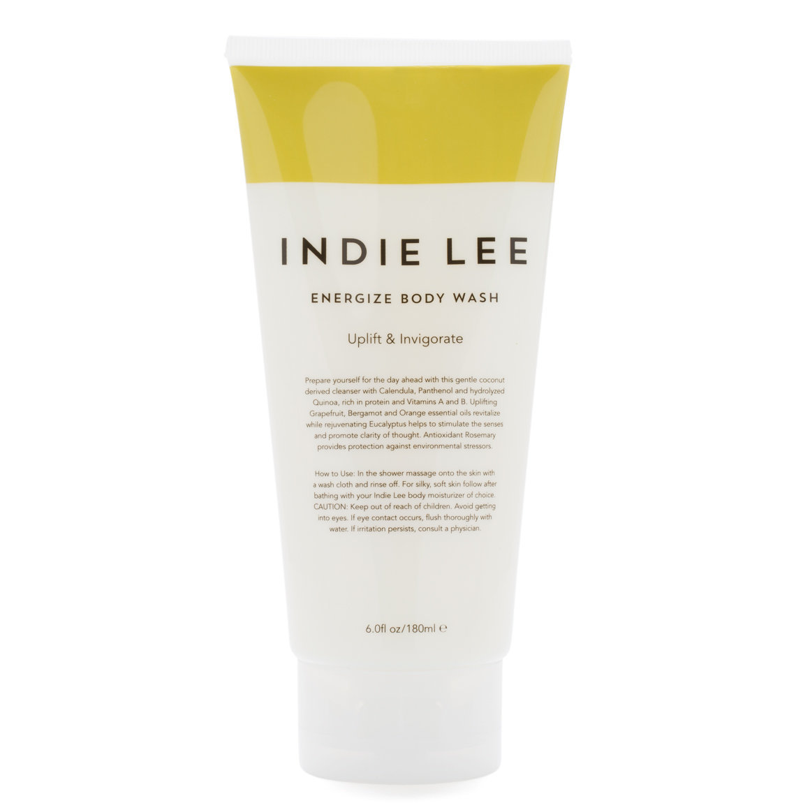Indie Lee Energize Body Wash product swatch.