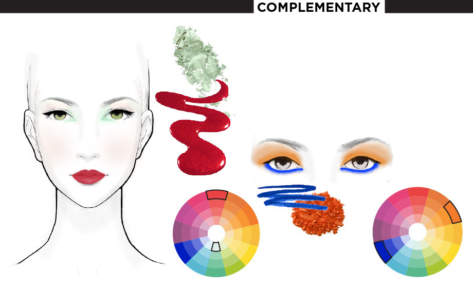 Makeup Meets Color Theory Beautylish
