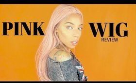Trendy Wigs LaLa Review | Pink Wig